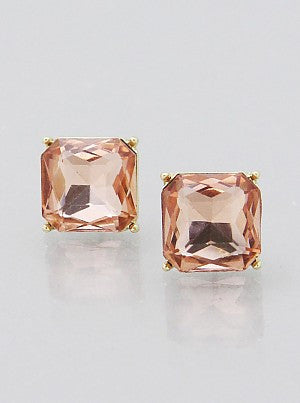 Square Princess Earrings