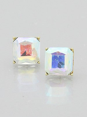 Square Aurora Earrings