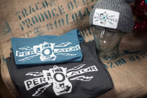 Classic Fitted Teal Perkolator T-Shirt