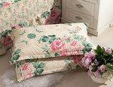 TEALP Paisley Print Pattern Pillowcases Cotton Decorative Pillow Covers, 2 Pcs