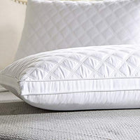 Besthls 2 Pack Bed Pillow for Sleeping, Hotel Cotton Pillows Fluffy and Soft Pillows, Queen Size 20 x 30 Inches