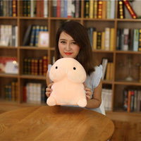 Dolnfin Plush Toy Soft Stuffed Simulation for Girlfriend Office Chair Bed Pillows
