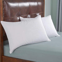 Dreamhood White Goose Feather and Down Pillows King Size, Set of 2