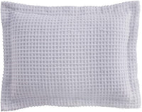 BrylaneHome Waffle Chenille Sham - King, Pear