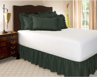 ShopBedding Ruffle Pillow case - Standard Pillow sham (Hunter), Ruffle Pillow Cover.
