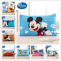 Mickey Mouse Pillow case covers for Kids bedroom decor cotton pillow sham boy's bed blue color 3d printed Children's Room Baby
