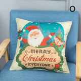 Pillow Cover Case 45x45cm Decoration For Home Christmas Bedroom Office Car AUG889