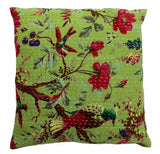 New Indian Handmade Hippie Kantha Pillow Cushion Cover Sofa Home Decor Throw 16""