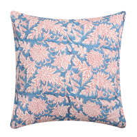 Hand Block Print Cotton Indian Cushion Cover Decorative Throw Pillow Cases 16X16