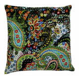 New Year Gift Indian Handmade Cushion Cover Floral Pillow Sofa Home Decor 16""