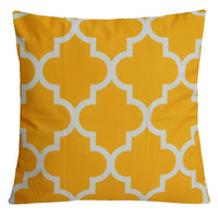 "20x20"" Amber Yellow Soft Velvet Pillow Case Sofa Bed Home Decor Cushion Cover US"