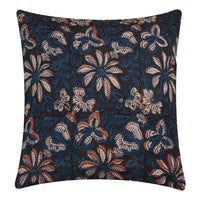 Decorative Throw Pillow Cases 16X16 Cotton Indian Hand Block Print Cushion Cover