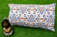 New Indian Cotton Handmade Rectangle Decor Couch Pillow Cushion Cover Sofa Throw