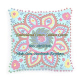 Indian Suzani Pillow Case Home Decor Traditional Embroidery Cushion Cover Sofa