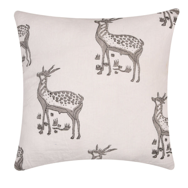 Indian Cotton 16X16 Hand Block Print Cushion Cover Throw Pillow Case Decorative