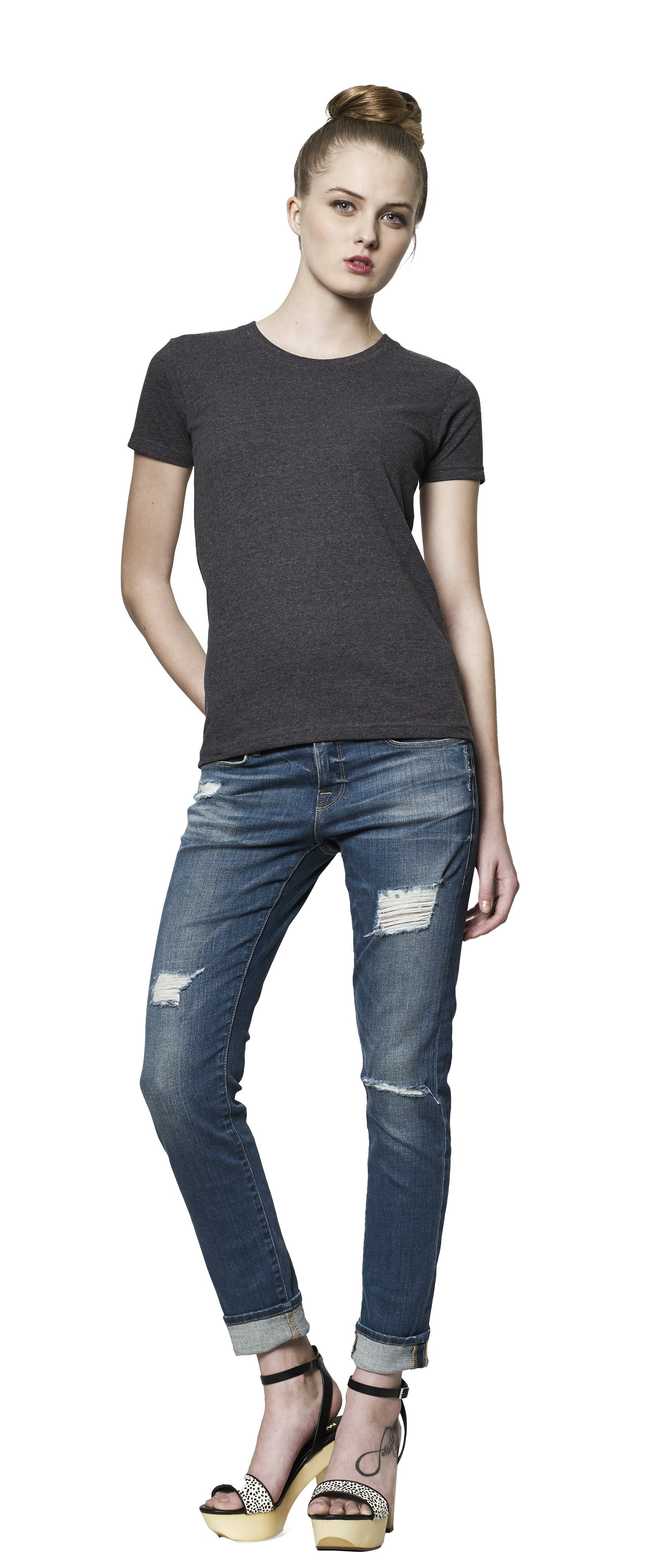 SA02 | Women's Slim Fit T-Shirt