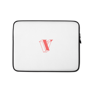 V is for Vault Laptop Sleeve - Watermelon