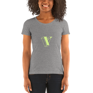 SF V is for Vault Tee - Chartreuse