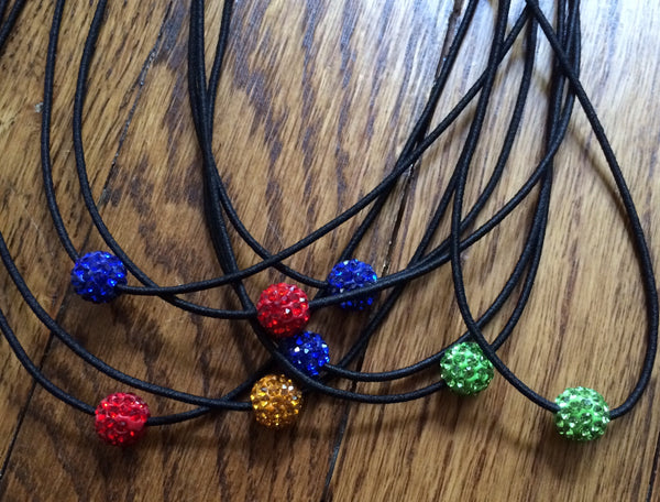 "Bead ""Shamballa"" Necklace"