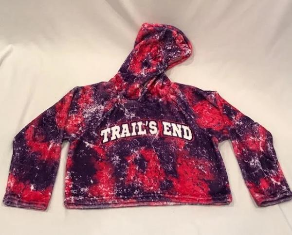Sample Sale - Trails End - Penelope Wildberry Cropped Hoodie