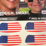 American Flag Eye Black Patches