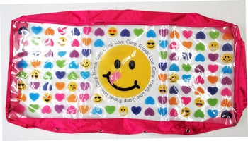 Smileys and Hearts Soft Underbed Storage