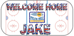 Welcome Home Banner - Hockey