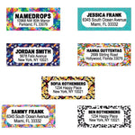 Namedrops Address Labels (27/Set)