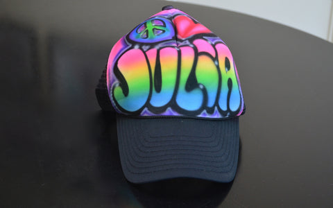 Airbrushed Hat