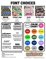 Namedrops Clothing & Accessory Labels - Ovals