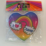 Fun Fiber Lights - I Love Camp Rainbow Heart