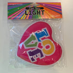Fun Fiber Lights - LOVE Heart