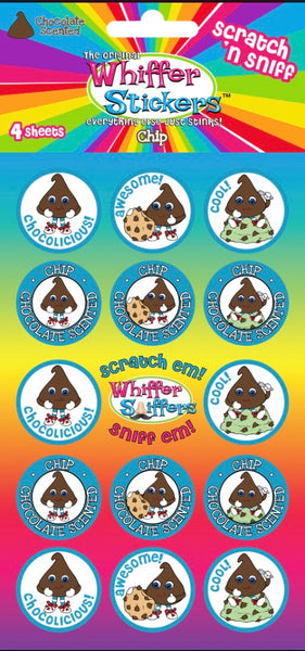 "Whiffer Stickers - Scratch 'n Sniff Stickers ""Chip"""
