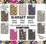 Namedrops Blanket Bags - choose your pattern