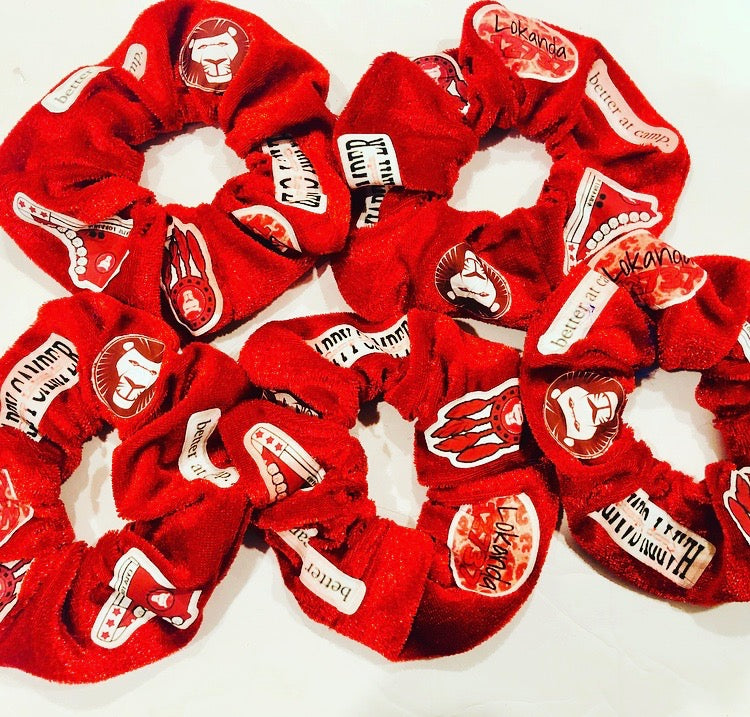 Camp Patch Scrunchies