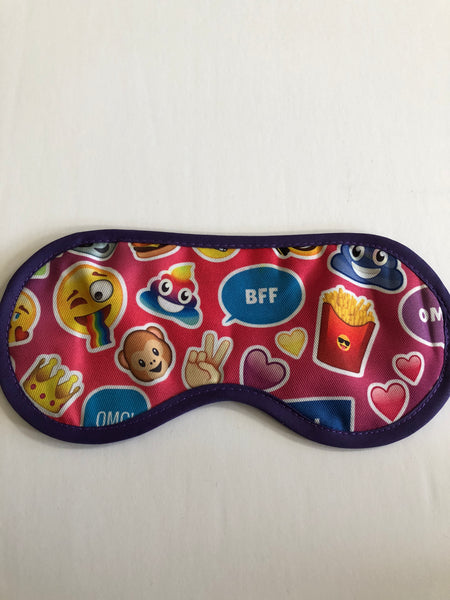 Sleep Mask- Emoji BFF
