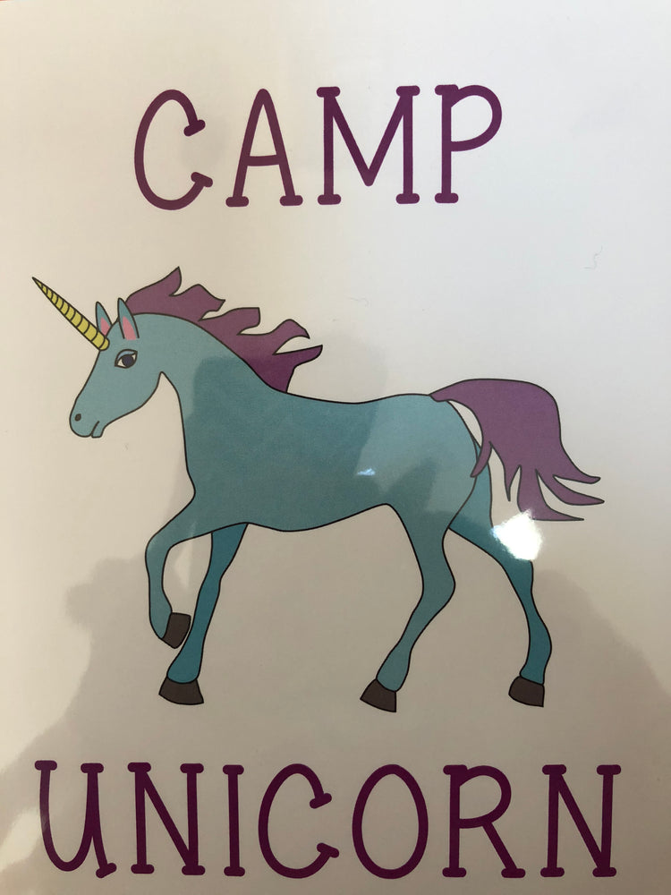 Card from Home - Unicorn