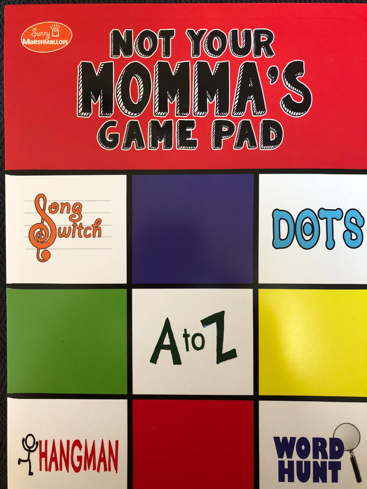 Not Your Momma's Game Pad
