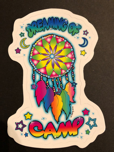 Dreaming of Camp Sticker