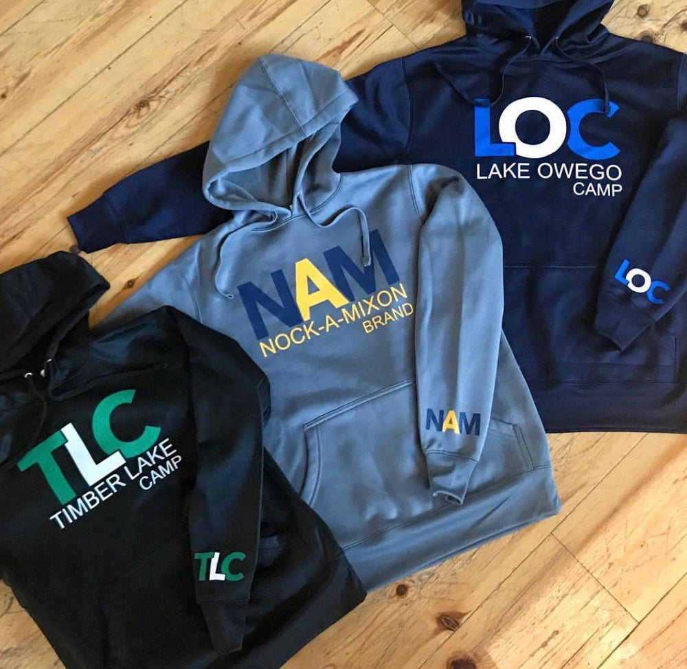 Performance Tech Hoodie with Brand Logo