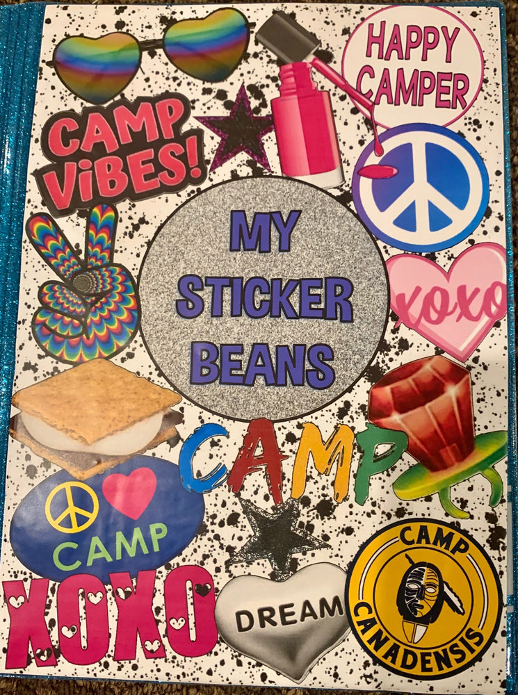 StickerBeans Book - Campy
