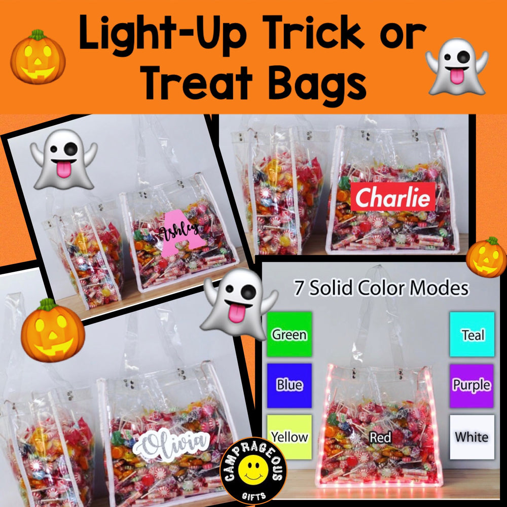 Light-Up Trick-or-Treat Bag