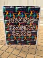 Trading Card Book