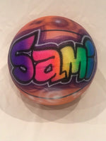 Sample Sale - Sami - Airbrushed Basketball