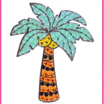"Palm Tree - 2"" StickerBeans Sticker"