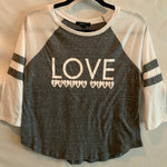 Sample Sale - Indian Head - Love 3/4 Sleeve Shirt