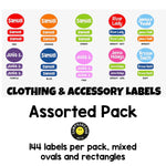 Namedrops Clothing & Accessory Labels - Mixed Pack