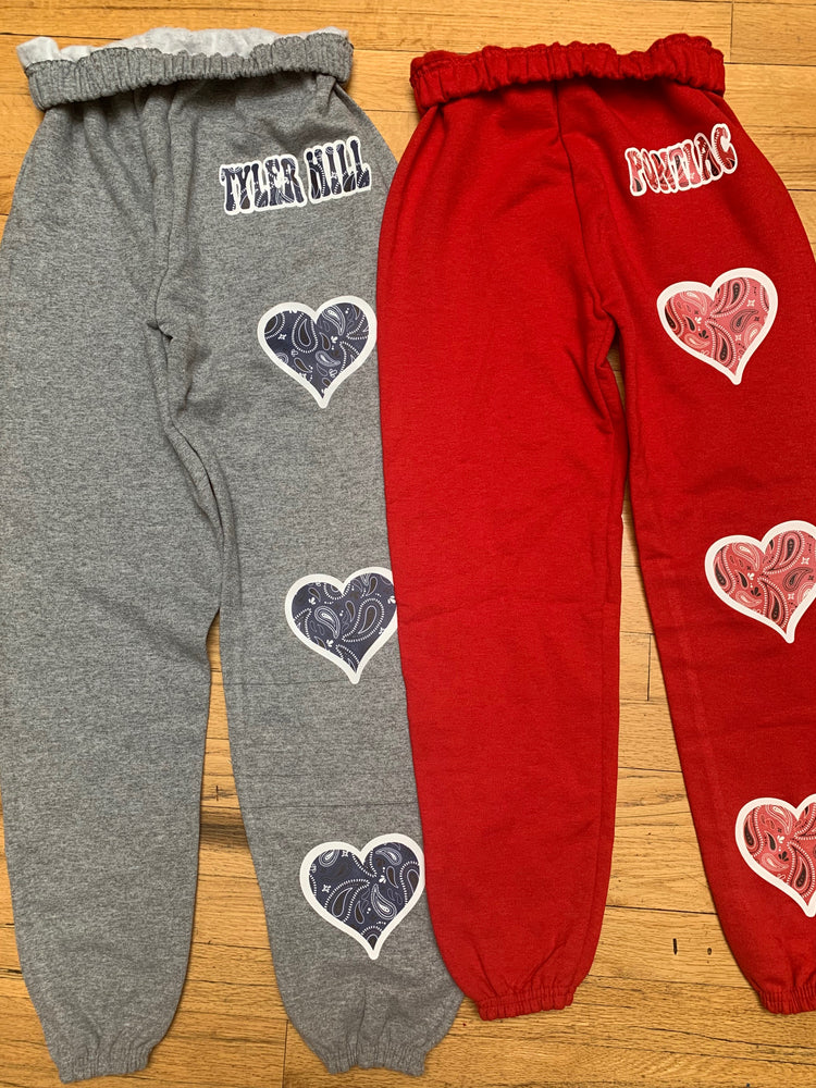 Bandana Hearts Sweatpants