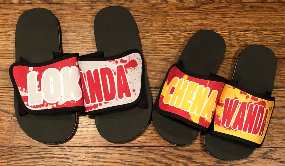 Splatter Slides with Name-Across