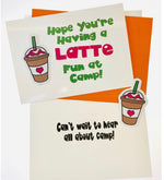 Card from Home with Decal - Latte Fun